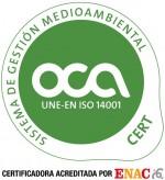 logotipo iso 14001